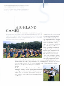 Highland games - Scotland