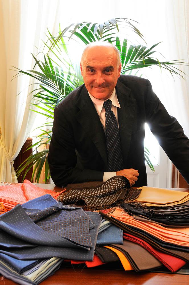 The famous ties maker Maurizio Marinella © Massimo Vicinanza