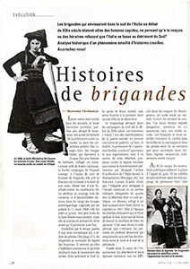 Histoire de brigandes
