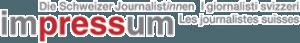 Impressum Les journalistes suisses